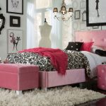 Girls Upholstered Twin Bed