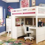 Girly Pottery Barn Loft Bed