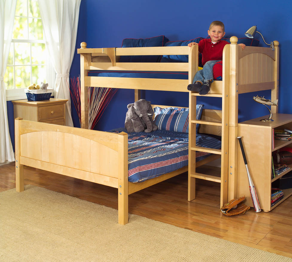 Image of: Kids Twin Over Full Loft Bed