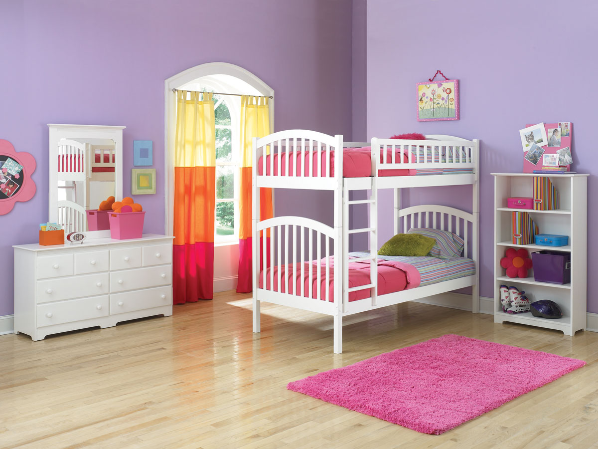Image of: Loft Beds for Girls Twin