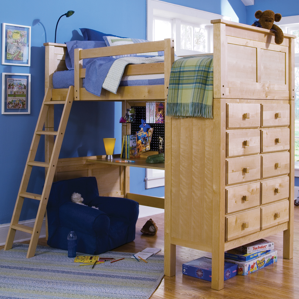 Image of: Lofted Beds Style