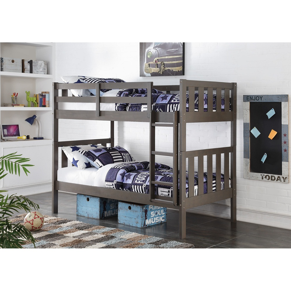 Image of: Low Height Bunk Beds Kids