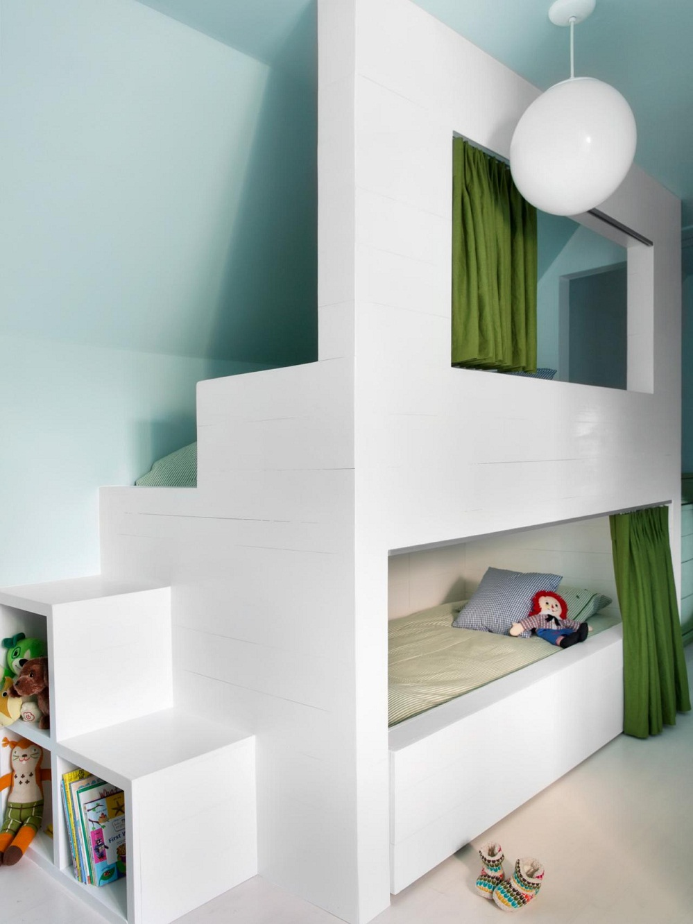 Image of: Low Height Bunk Beds Modern
