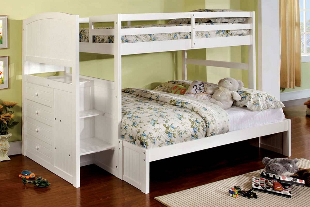 Image of: Low Height Bunk Beds Staircase