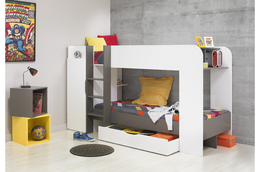 Image of: Low Height Bunk Beds Style