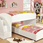 Low Height Bunk Beds White