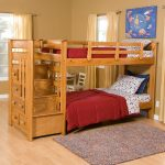 Natural Bunk Beds With Storage
