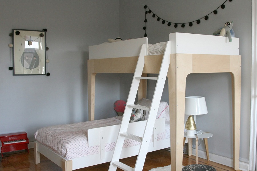Image of: Oeuf Bunk Bed Design