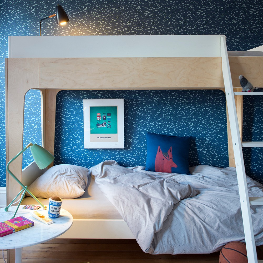Image of: Oeuf Bunk Bed Kids