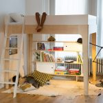 Oeuf Bunk Bed Storage