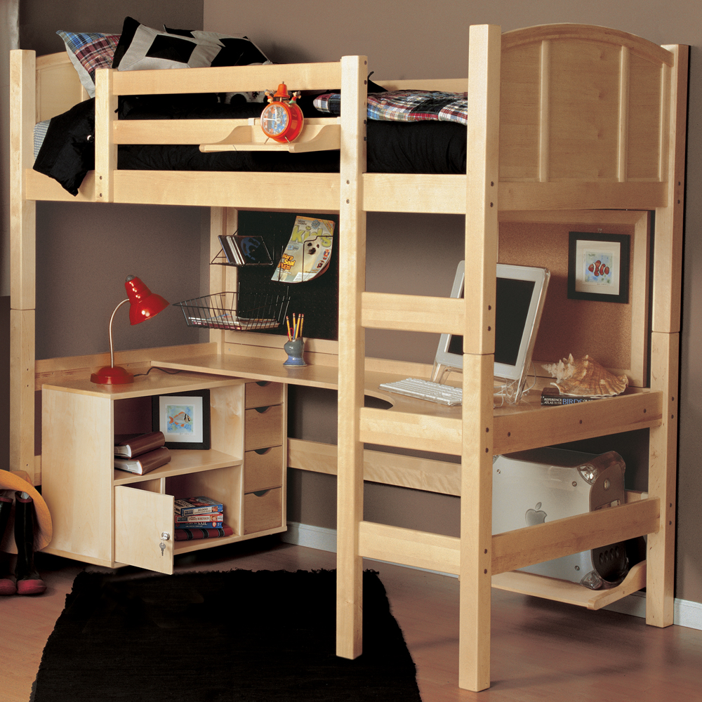 Image of: Original Lofted Beds