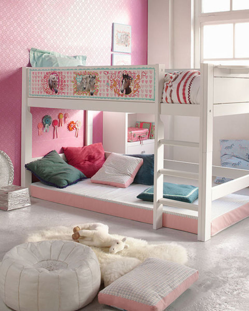 Image of: Cute Girls Loft Bed Photos