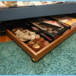 Simple Underbed Shoe Storage