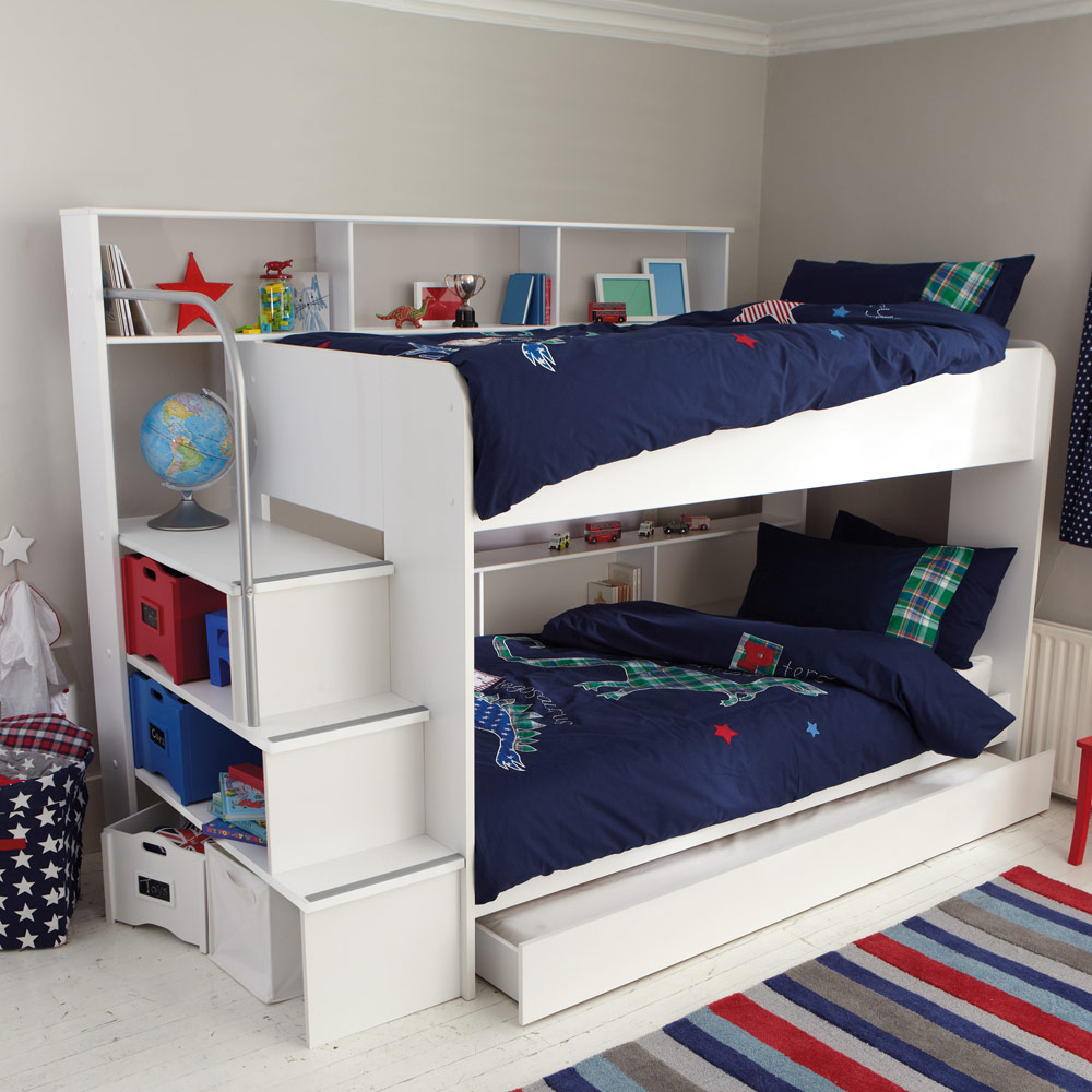 Image of: Storage Bunk Beds Ideas