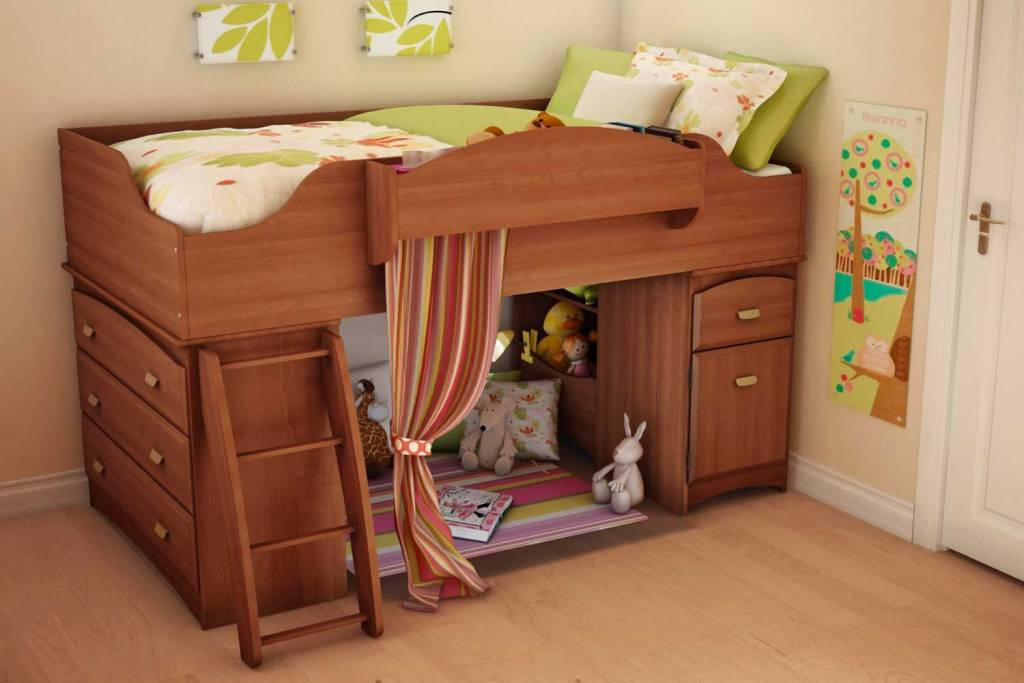 Stylish Storage Bunk Beds