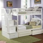 Twin Bunk Beds with Stair
