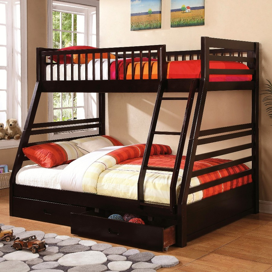 Image of: Twin Bunk Beds with Stairs Images