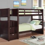 Twin Bunk Beds with Stairs for Kids