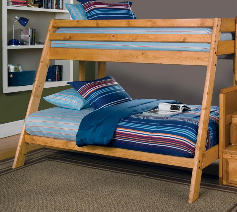 Image of: Twin Over Full Bunk Bed Building Plans