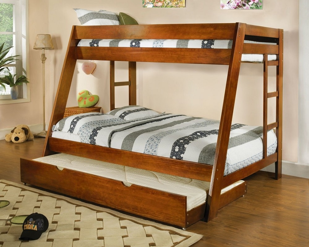 Image of: Twin Over Full Bunk Beds Cheap