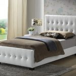 Twin Upholstered Bed Headboard and Frames