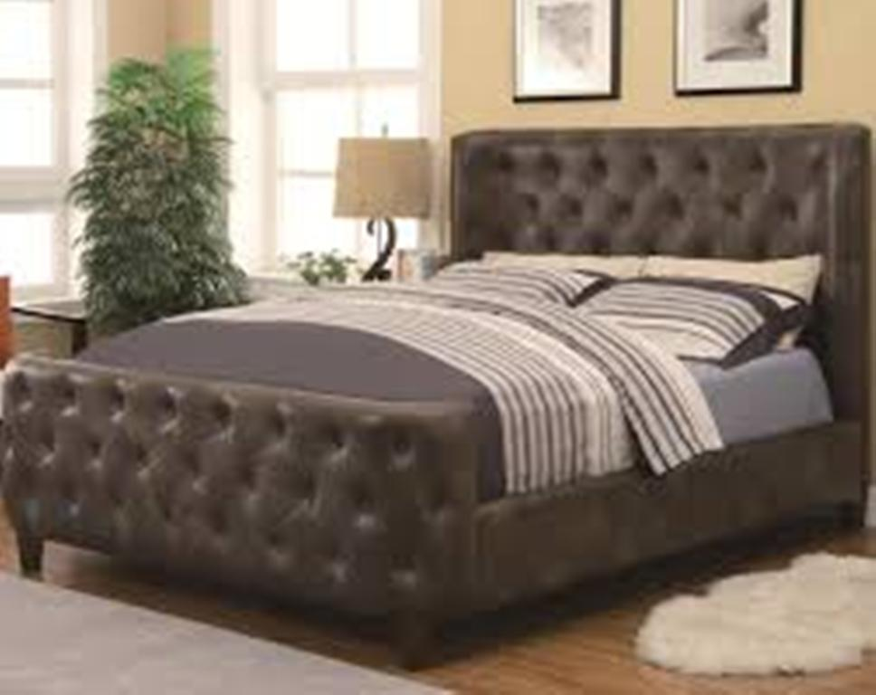 Image of: Twin Upholstered Bed Trundle