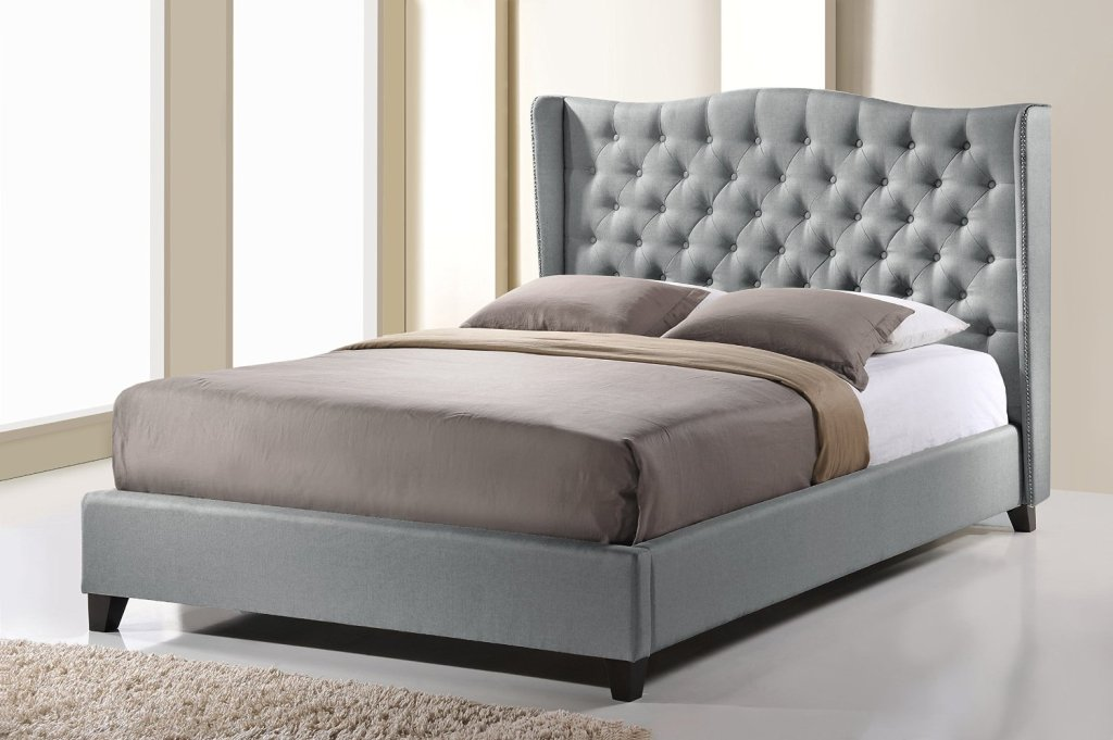 Image of: Twin Upholstered Bed with Storage