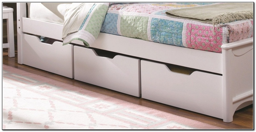 Image of: Underbed Shoe Storage Drawers
