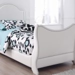 Upholstered Twin Bed Pink