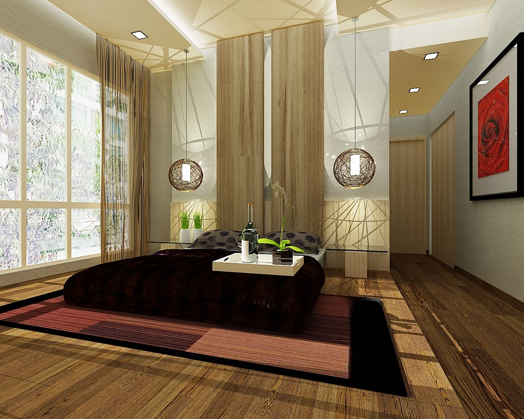 Image of: Zen Bedrooms Ideas