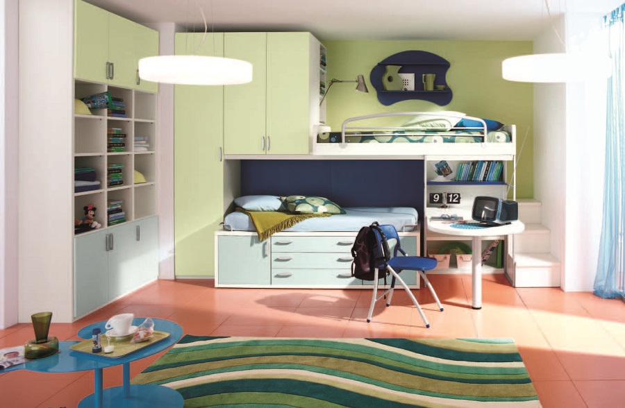 Image of: 2018 Modern Bunk Bed