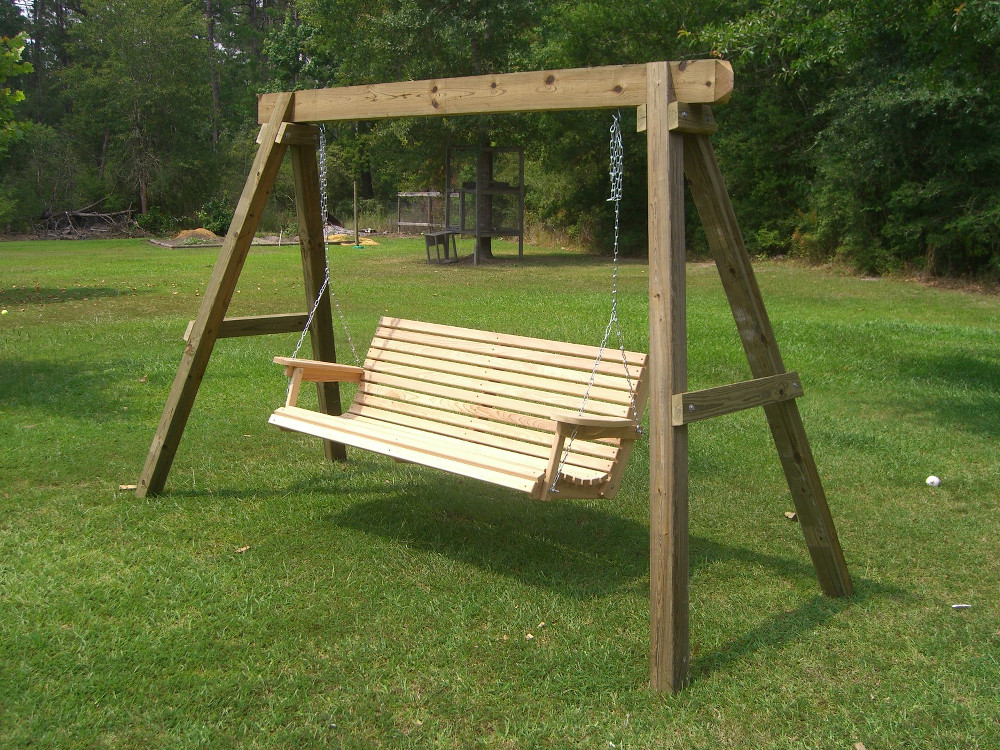 Image of: Affrodable Patio Swings