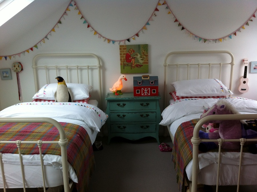 Antique Childrens Twin Beds