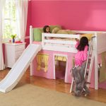 Beautiful Loft Beds For Kids With Slide