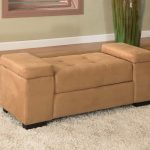 Bedroom Storage Bench Seat with Arms