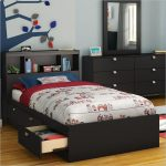Black Twin Bed Frames With Storage