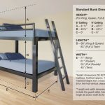 Bunk Bed for Adults Dimensions