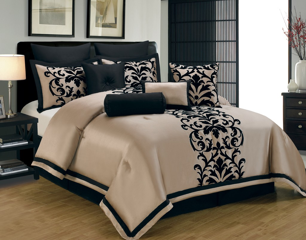 Image of: Cal King Bed Comforter Sets