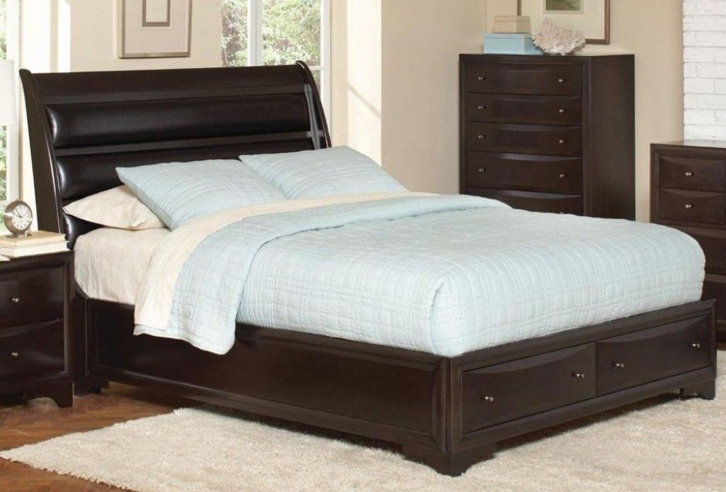 Image of: California King Bed Frames and Box Spring