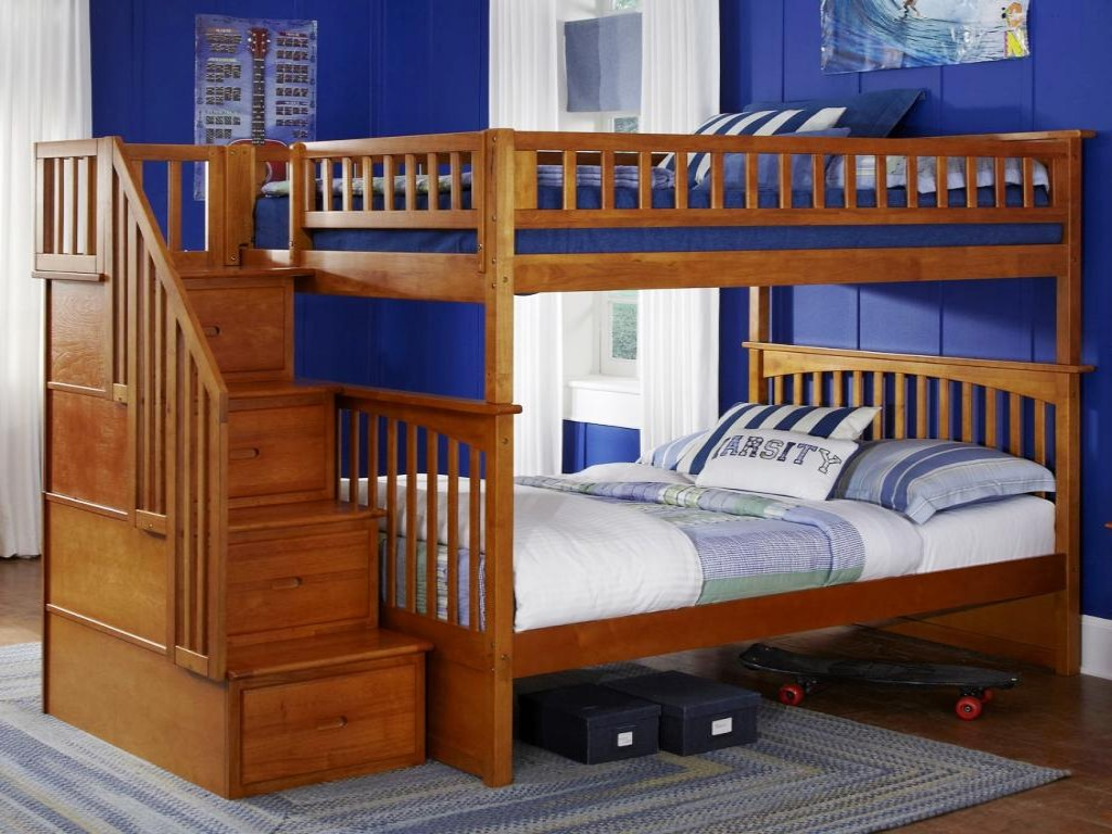 Image of: Childrens Bunk Beds Wood