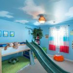 Childrens Bunk Beds with Slide