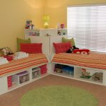 Childrens Twin Beds White Color
