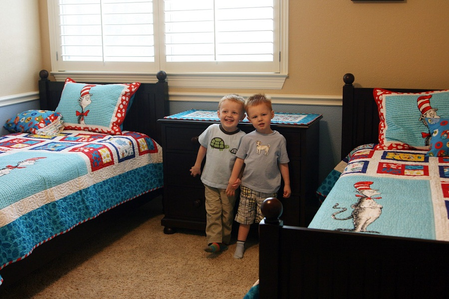 Image of: Childrens Twin Beds for Children