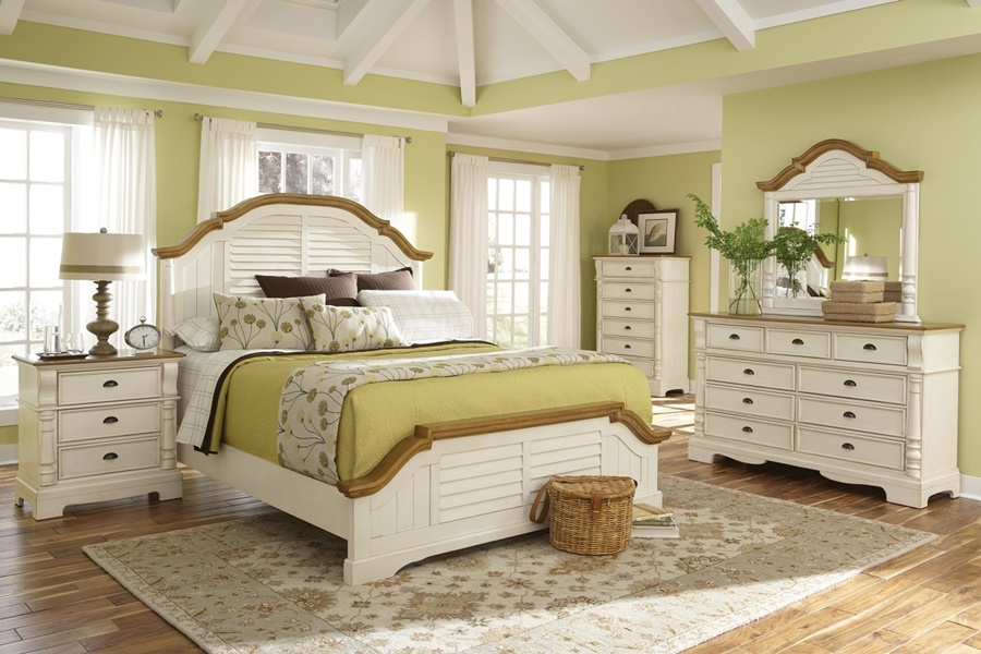 Contemporary Eastern King Bed Frame