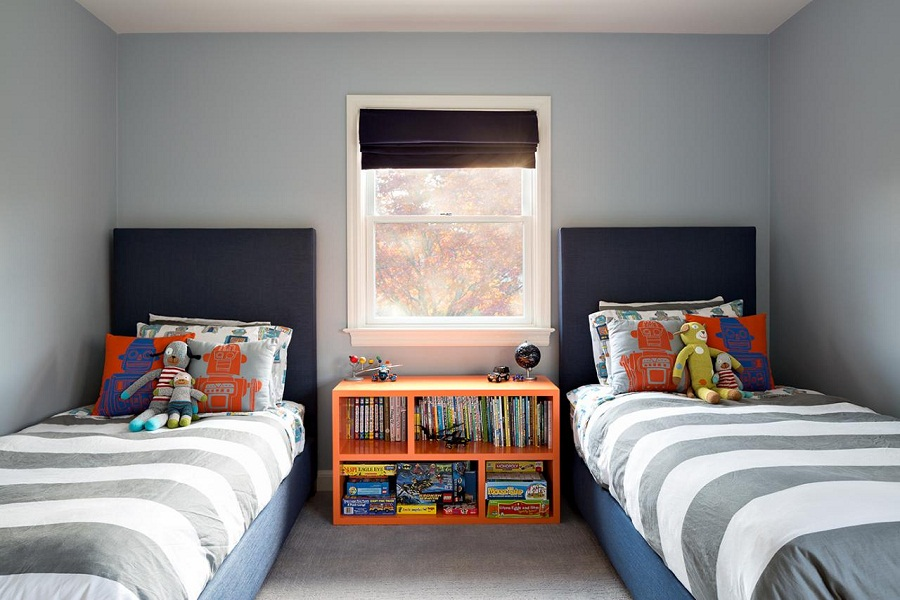Image of: Contemporary Kids Room with Childrens Twin Beds