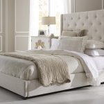 Contemporary Upholstered King Bed