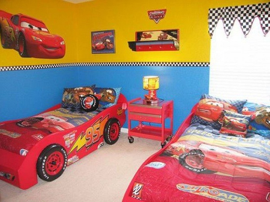 Image of: Cool Design Childrens Twin Beds