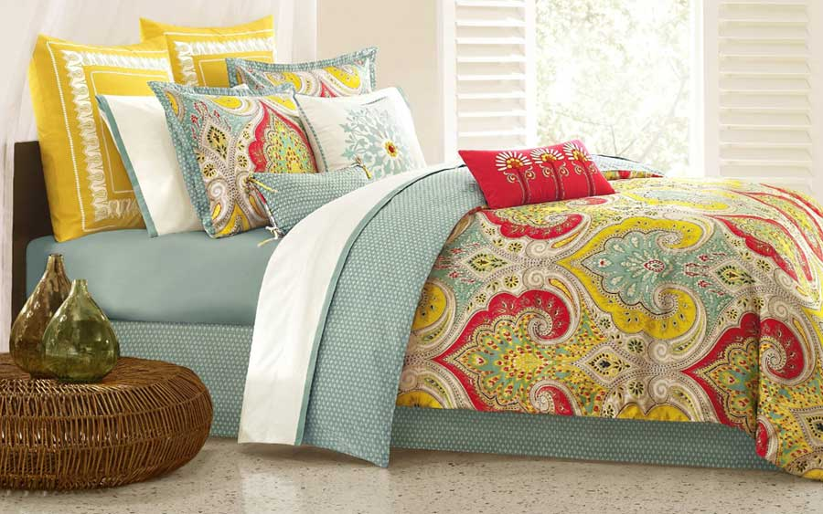 Image of: Cotton King Bed Comforter Sets