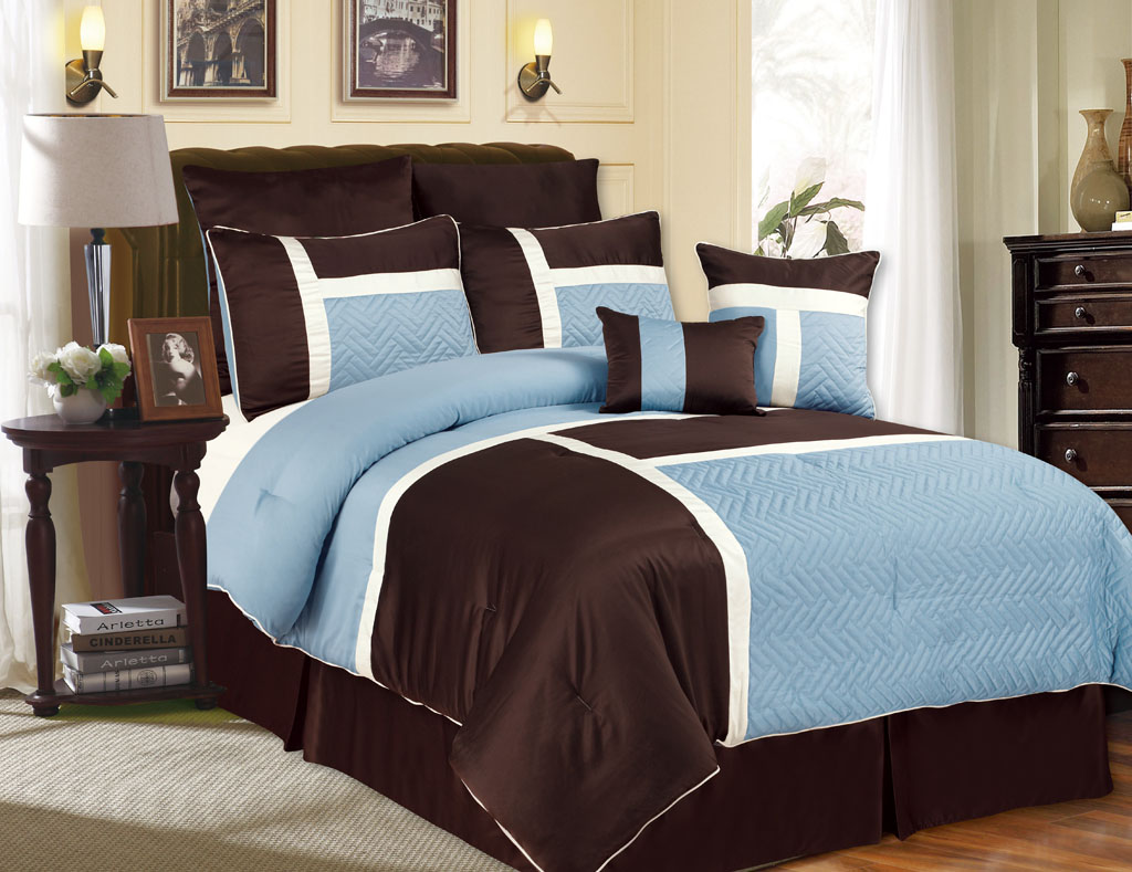 Image of: Cozy King Bed Comforter Sets