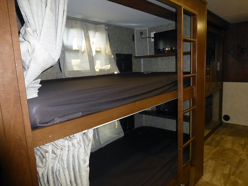 Image of: Design RV With Bunk Beds